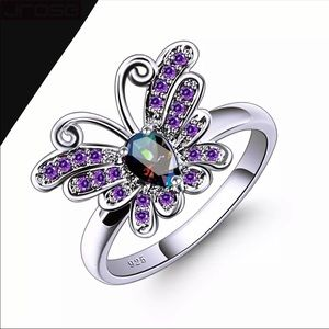 925 BUTTERFLY RING